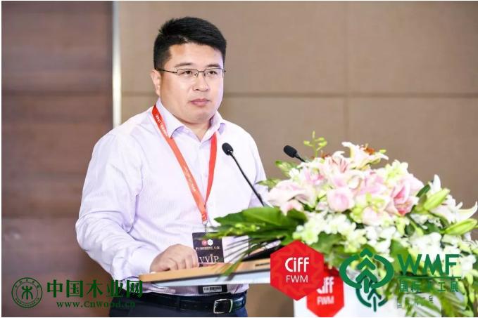 中国林业机械协会秘书长韦剑致辞