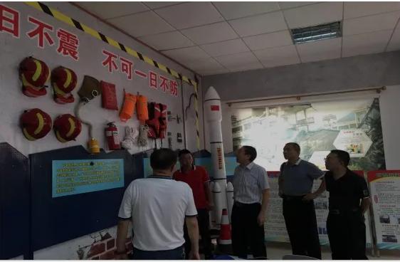广州市应急管理局罗传亮副局长带队赴从化区开展执法检查