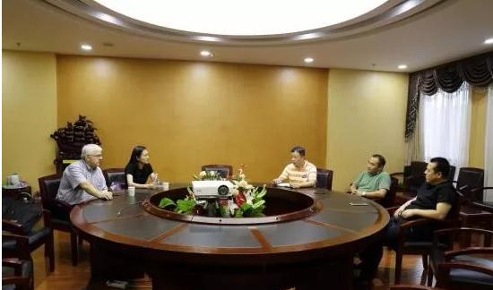 美国林业经济顾问再次到访青白江国际交易中心