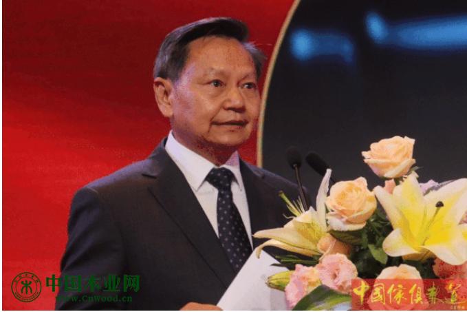 中国轻工业联合会会长张崇和致辞。