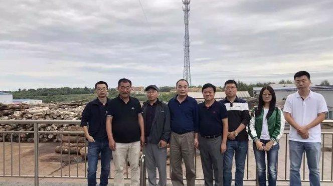 众木地板企业赴吉林考察金隆木业集团