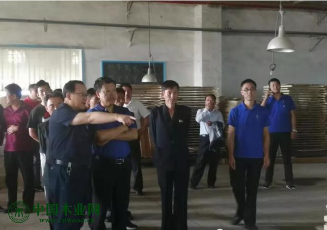 朝鲜两江道林业代表团莅临松林公司参观考察