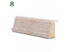 达立装饰 实木线条贴染色尼斯木皮门套线定制东莞厂家直销