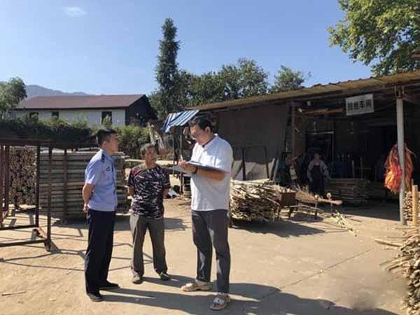 武宁县新宁镇多措并举全面开展安全生产大检查