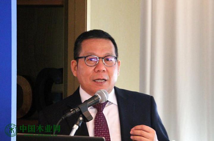 柬埔寨西哈努克港经济特区有限公司董事长陈坚刚