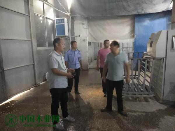 鲍沟镇开展国庆期间安全生产大检查