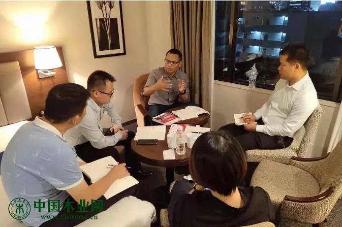 会员企业分组讨论交流