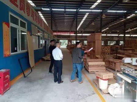 蒲江县规划和自然资源局对木材加工企业开展安全生产大检查