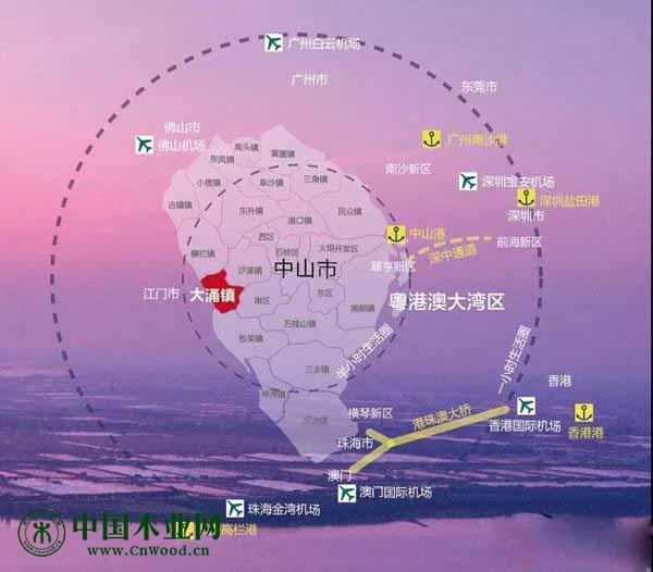 大涌镇紧抓粤港澳大湾区发展机遇建设中国红木特色小镇精彩范例