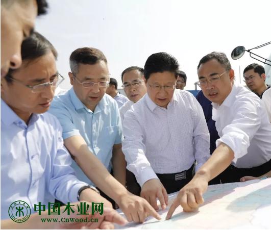 市、区领导研究木业产业转型升级规划