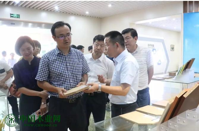 国家发改委曾尚忠副司长指出万华产业园模式有利于带动家具产业可持续发展
