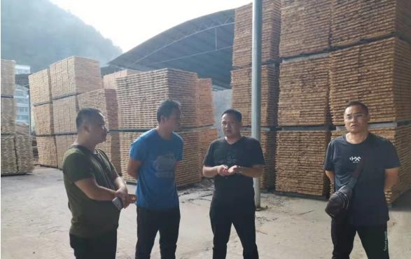 锦屏县应急局深入木材加工厂开展安全生产大检查