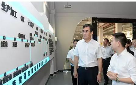 赣州市委书记在南康调研现代家居城建设工作