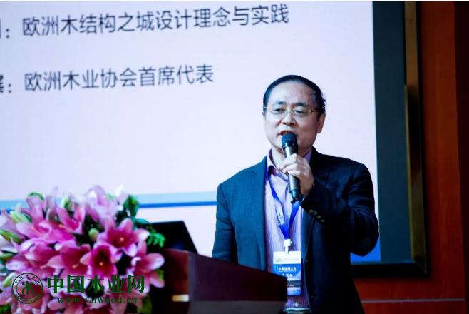 欧洲木业协会中国首席代表张绍明先生