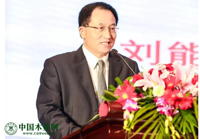 中国木材与木制品流通协会会长 刘能文
