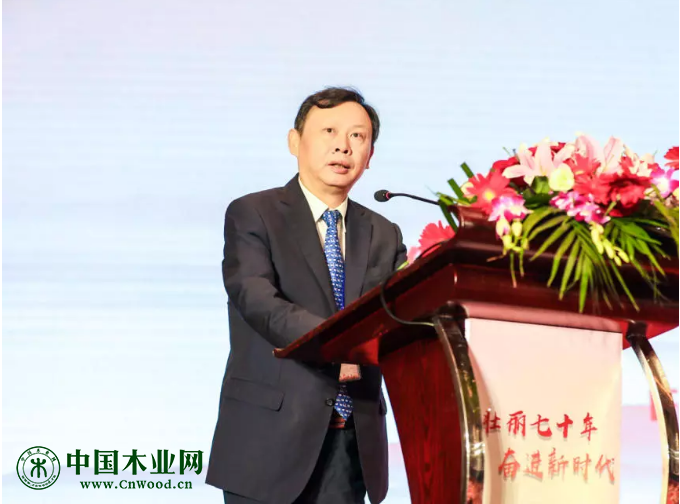 中国物流与采购联合会党委书记、会长  何黎明致辞