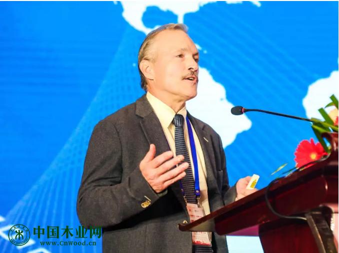 国际热带木材组织(ITTO)贸易工业司司长 斯蒂文·强森