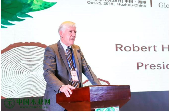 国际热带木材技术协会(ATIBT)主席 Robert Hunik