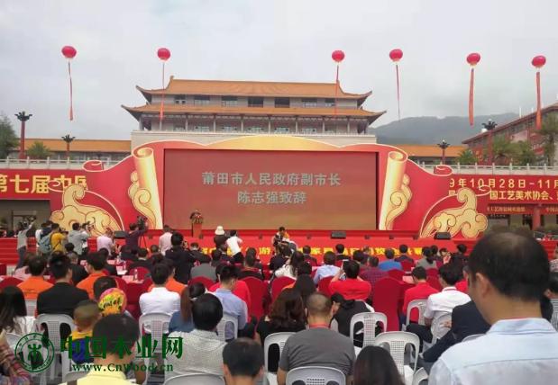 莆田市人民政府副市长陈志强致辞