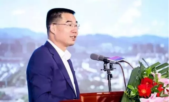 东阳市委书记傅显明致辞
