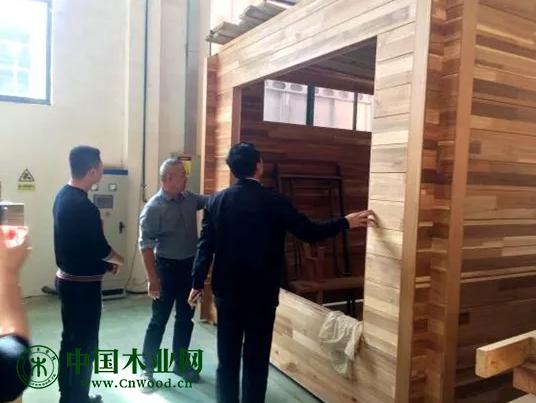 岚山经济开发区赴淮安、上海考察木材项目