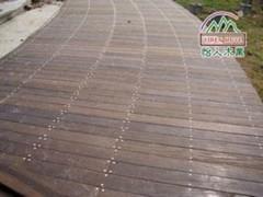 怡人木业-木栈道、木地板系列