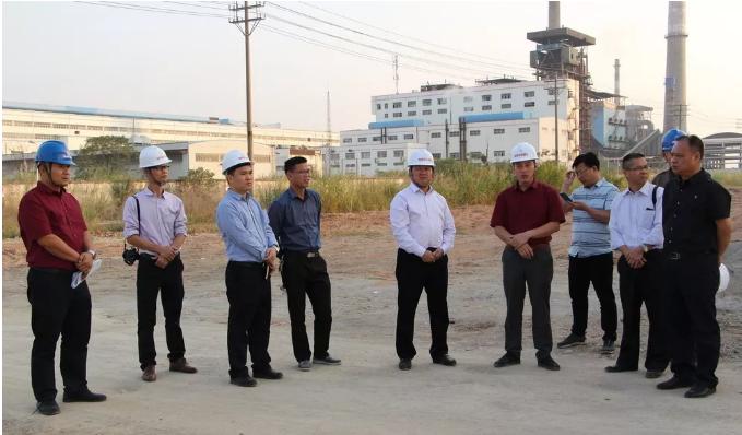 来宾市兴宾区委书记杨添才到兴宾区工业园区调研