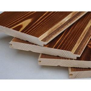 通祥木业- 桑拿板碳化木