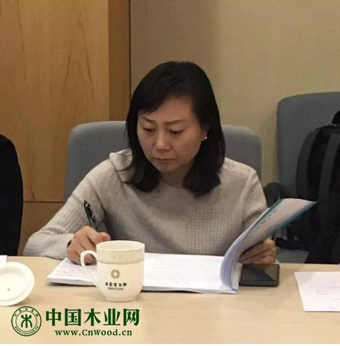 木材节约发展中心总工程师 姚玉萍