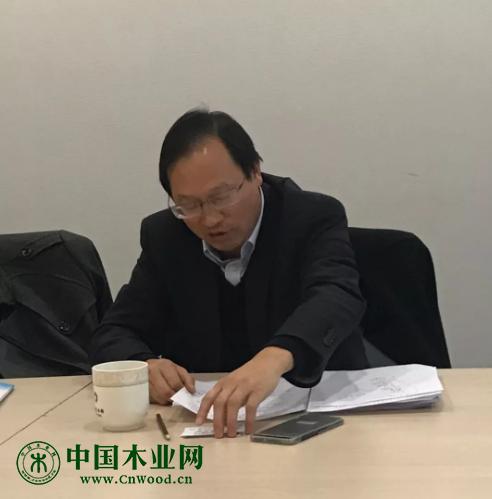 中国林科院木工研究所研究员 段新芳