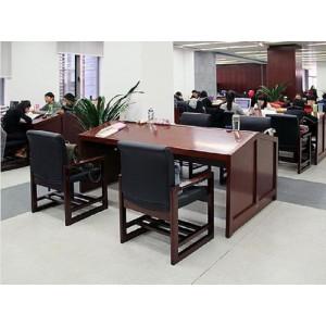 金橡木业-阅览桌椅系列