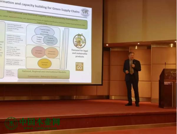 国际热带木材组织执行主任Dr. Gerhard Dieterle