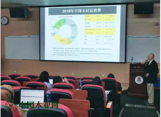 中国木材流通协会首席专家朱光前老师