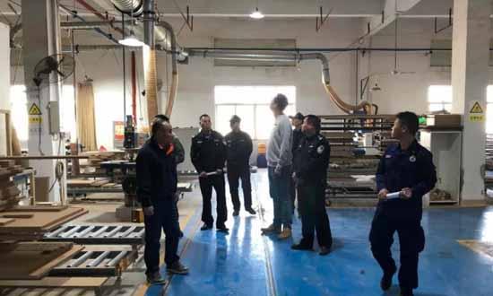 广东省开平市翠山湖科技园开展木材加工场所安全大排查大整治专项行动