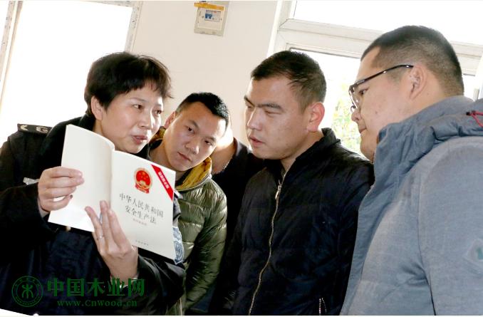 邳州市应急管理局开展木材行业安全生产大排查