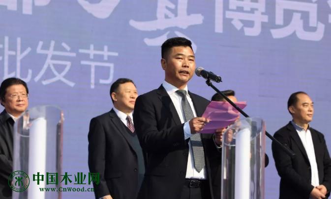 中国东部家具产业基地董事长、东部家具行业商(协)会会长王传威