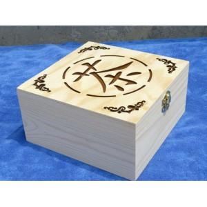 颜禾-木制茶叶盒