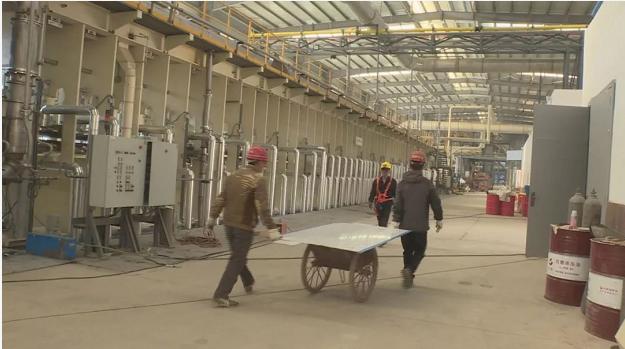 福建省平和县:倾力服务促建设,西蝉betway必威官网手机版下载生产加工项目有望于月底进入试生产