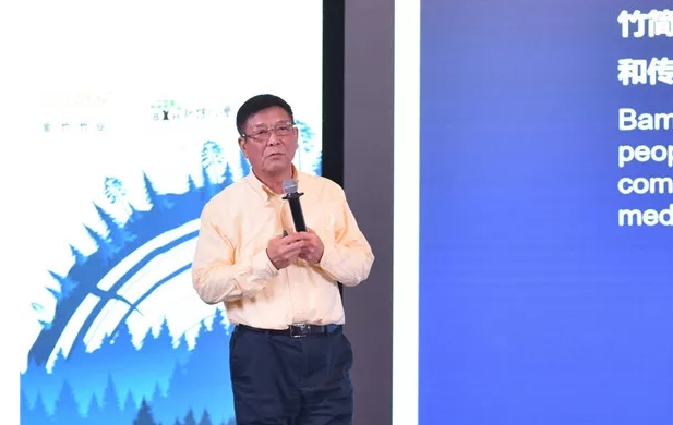 浙江大庄实业集团有限公司董事长林海分享《让竹子回归殿堂》