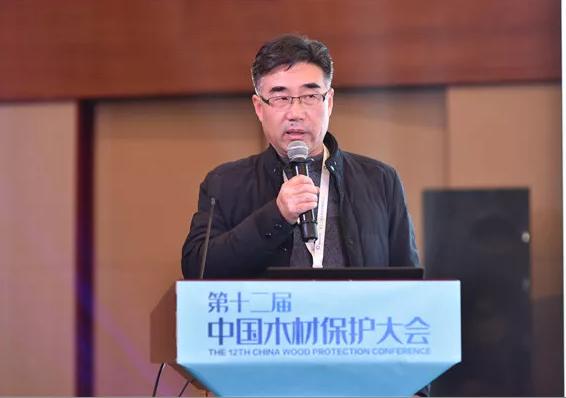 国家林业和草原局竹子研究开发中心副主任、研究员陈玉和分享《竹质工程材料及其耐候性研究进展》