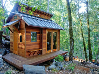 移动木屋结构
