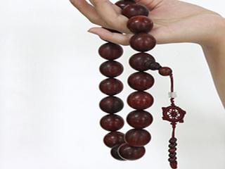红木佛珠的种类