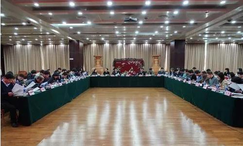 中心2019年党建述职及领导班子年度考核会议