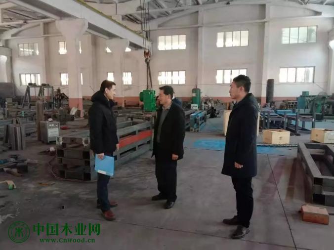胶州开展节前木材加工行业安全生产检查