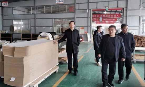 岚山经济开发区领导率队赴济南考察家具生产项目!