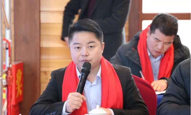 执行秘书长杨剑做2019年12月份工作小结