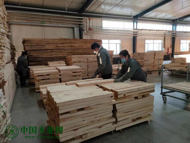 曲美木业工作场景