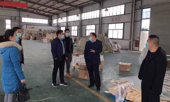 曹县应急管理局对辖区内木业、化工等企业复工复产开展持续检查指导