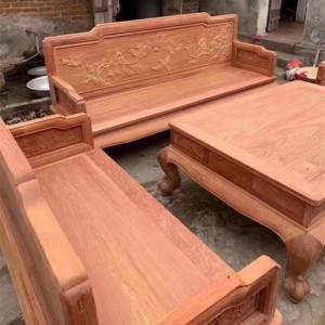 销售缅甸花梨光板沙发
