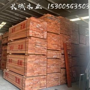 赞比亚花梨(小巴花)特级板材现货供应